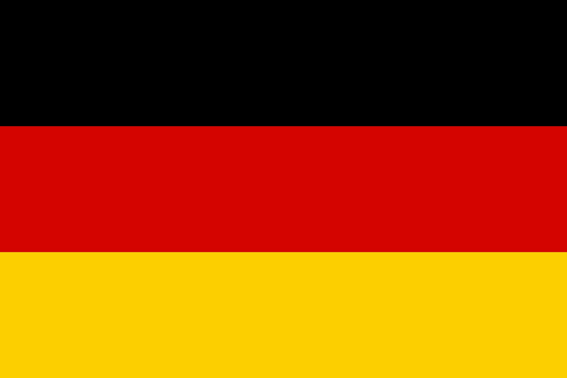 Deuschland Flagge